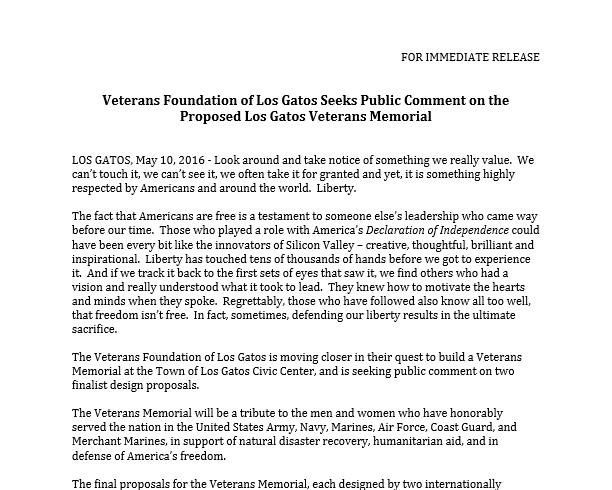 press release – Final