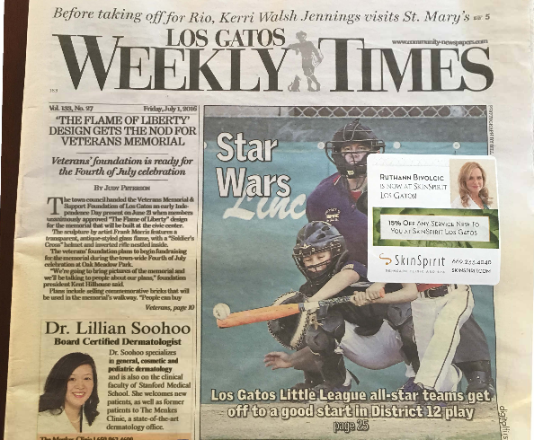 Los Gatos Weekly Times – Flame of Liberty Conceptual Design