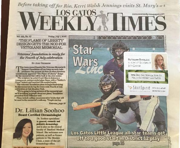 Los Gatos Weekly Times – Flame of Liberty Conceptual Design