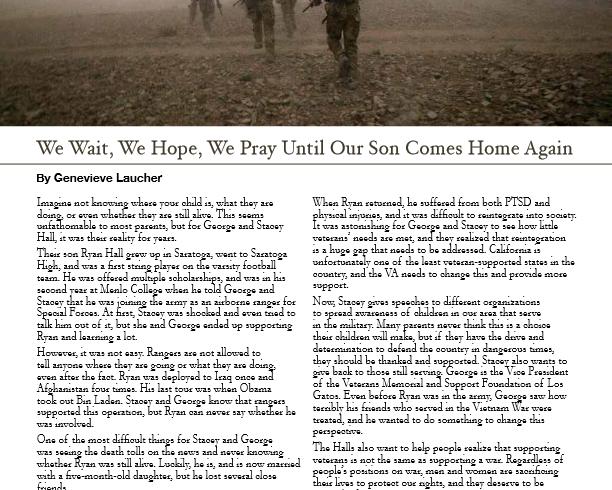 We Wait, We Hope, We Pray