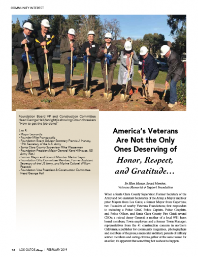 Veterans Memorial Groundbreaking