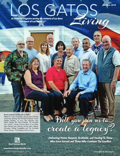 Los Gatos Living Feature – Will you join us to create a legacy
