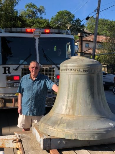 The Los Gatos Fire Bell finds its return to Civic Center