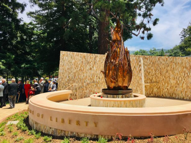 Silicon Valley Dedicates Flame of Liberty to Fallen Heroes Who Protected America's Freedom