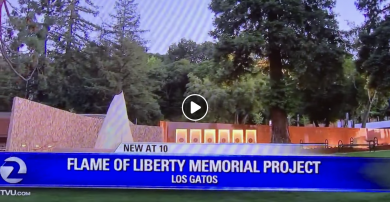 Thursday night KTVU story on the Veterans Memorial