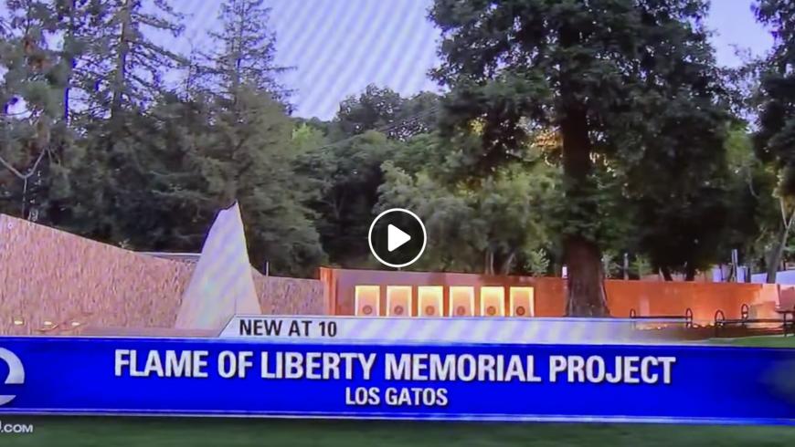 Thursday night KTVU story on the Veterans Memorial