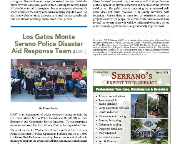 Los Gatos Monte Sereno Police Disaster Aid Response Team