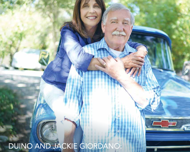 Duino and Jackie Giordano: Helping the Community and Beyond