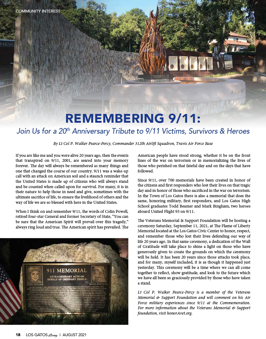 Remembering 9/11 Event